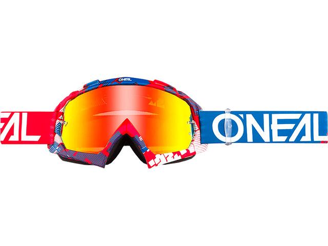 ONeal B-10 Goggles rød/blå